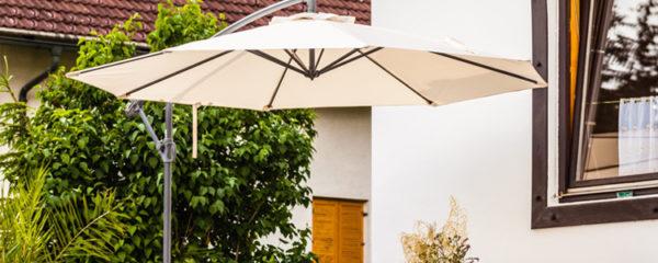 Modèle de parasol pour son salon de jardin